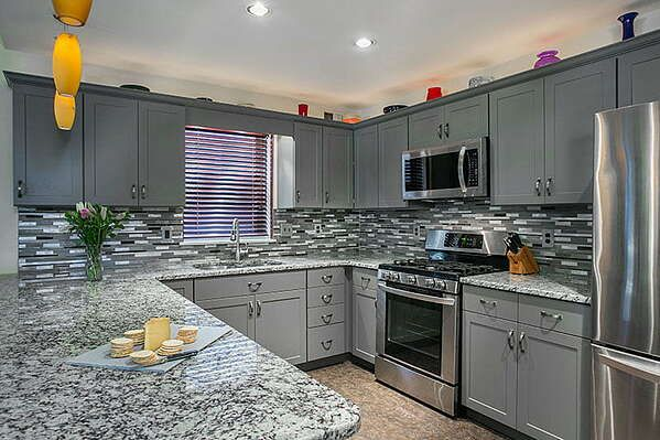The Best Kitchen Colors & Designs for Resale Value | Grey kitchen ...