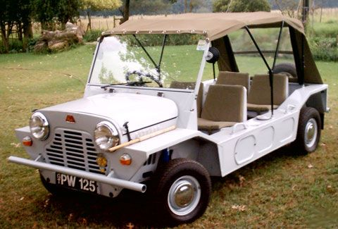 The Mini Moke was very much for rural Use Manufactured in Umtali Photo by Chris Baragwanath