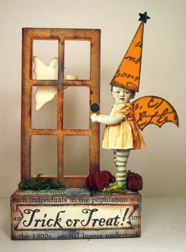 HALLOWEEN Fairy for next year - I love this had to pin it.