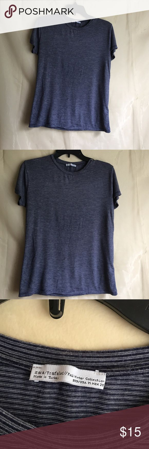 ZARA Tshirt still good Zara Tops Blouses