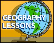 """A World of Information Lesson: students color world maps to illustrate """"top ten"""" statistics about the world"""