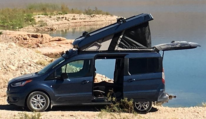 Ford Transit Connect Lwb Wagon Conversion In 2021 Ford Transit Ford Transit Connect Camper Wagon