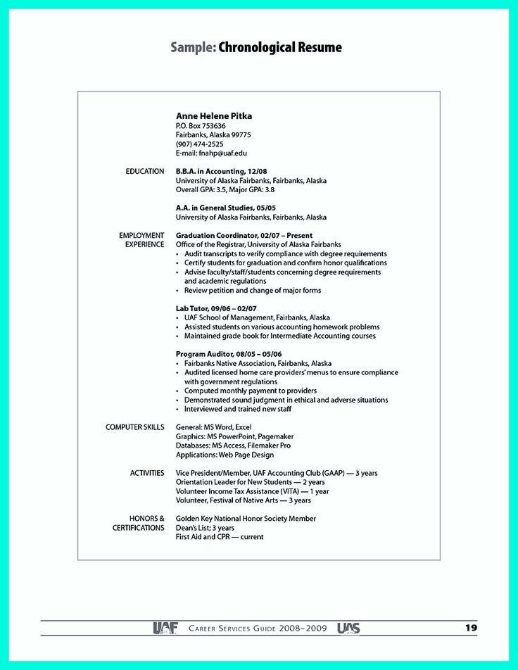 Best 25+ Resume creator ideas on Pinterest Cover letter for job - college application resume format