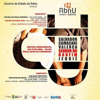 NONATO NOTÍCIAS: Abriu Dança na Bahia !