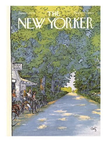 The New Yorker Cover - June 21, 1976 Poster Print by Arthur Getz at the Condé Nast Collection