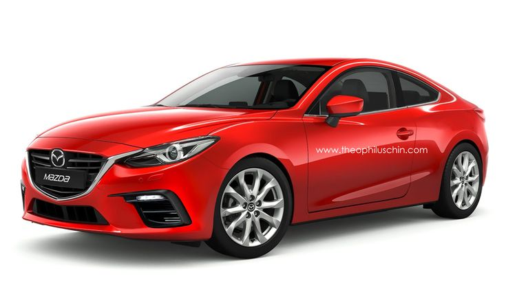Mazda 3 Coupe in this color