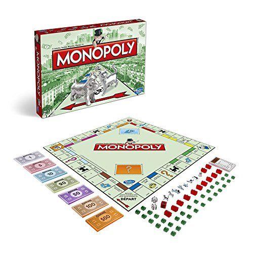 Hasbro France – Jeu – Monopoly: Monopoly classique Objectif : être le joueur le plus riche à la fin de la partie, lorsque les autres…