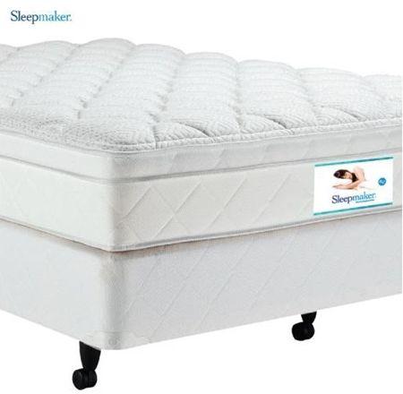 Sleepmaker Dream Supreme Medium Mattress and Base - Queen