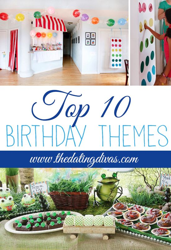 NEED THIS! Birthday Party themes for my hubby!!!!