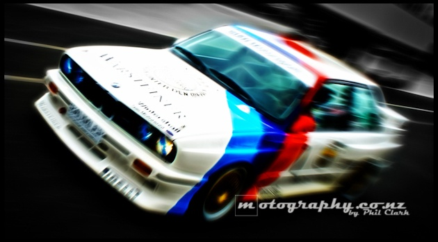BMW E30 M3 Motorsport - Paul Radisich by me - www.motography.co    © Phil Clark t/a Motography NZ