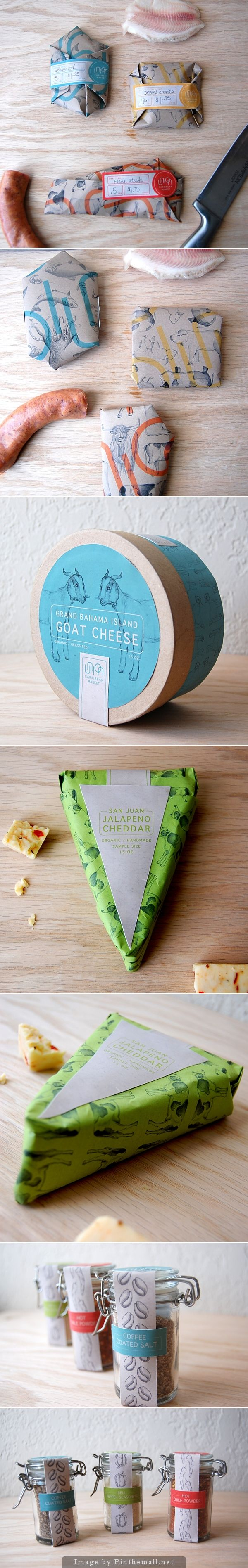 Union Market Deli - Brand identity applied to packaging design