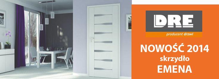 Nowa kolekcja drzwi Emena od DRE :) http://ddd.com.pl/szukaj/SZUKAJ_emena