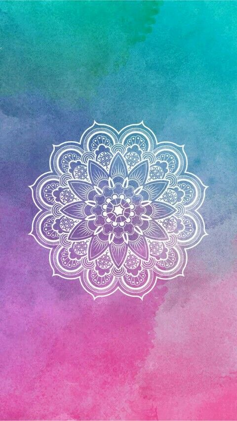 Cute Pink Cell Phone Wallpaper I Love This Photo Because It S Mandala And The Backround