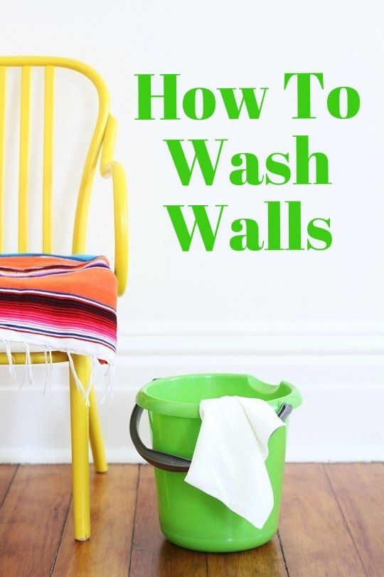 How To Wash Walls — Apartment Therapy Tutorials | Apartment Therapy