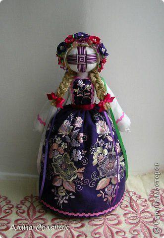 Куклы Шитьё Кукла-мотанка Ткань фото 24