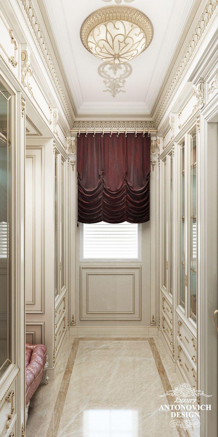 Элитный дизайн проект дома с мраморными полами в классическом стиле от Лакшери Антонович Дизайн