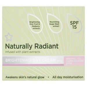 Superdrug Naturally Radiant Cream Normal/Combi 75ml