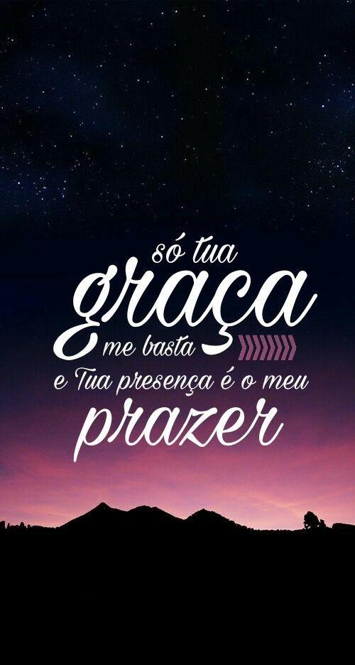 Só Tua Graça Me Basta E Tua Presença é O Meu Prazer Trazendo A Arca