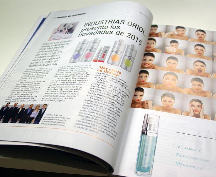 C&C Magazine. Artículo muy interesante sobre la empresa Industrias Oriol, su nuevo catálogo con más de 200 novedades, las nuevas generaciones incorporadas y la extensa gama de tintes de la marca Tassel cosmetics. #industriasOriol #Tassel #TasselCosmetics