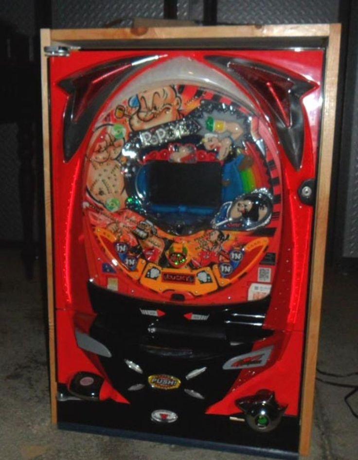 CLASSIC POPEYE VIDEO PACHINKO MACHINE, LICENSED / 200 BALLS  JAPANESE PINBALL | Collectibles, Casino, Slots | eBay!