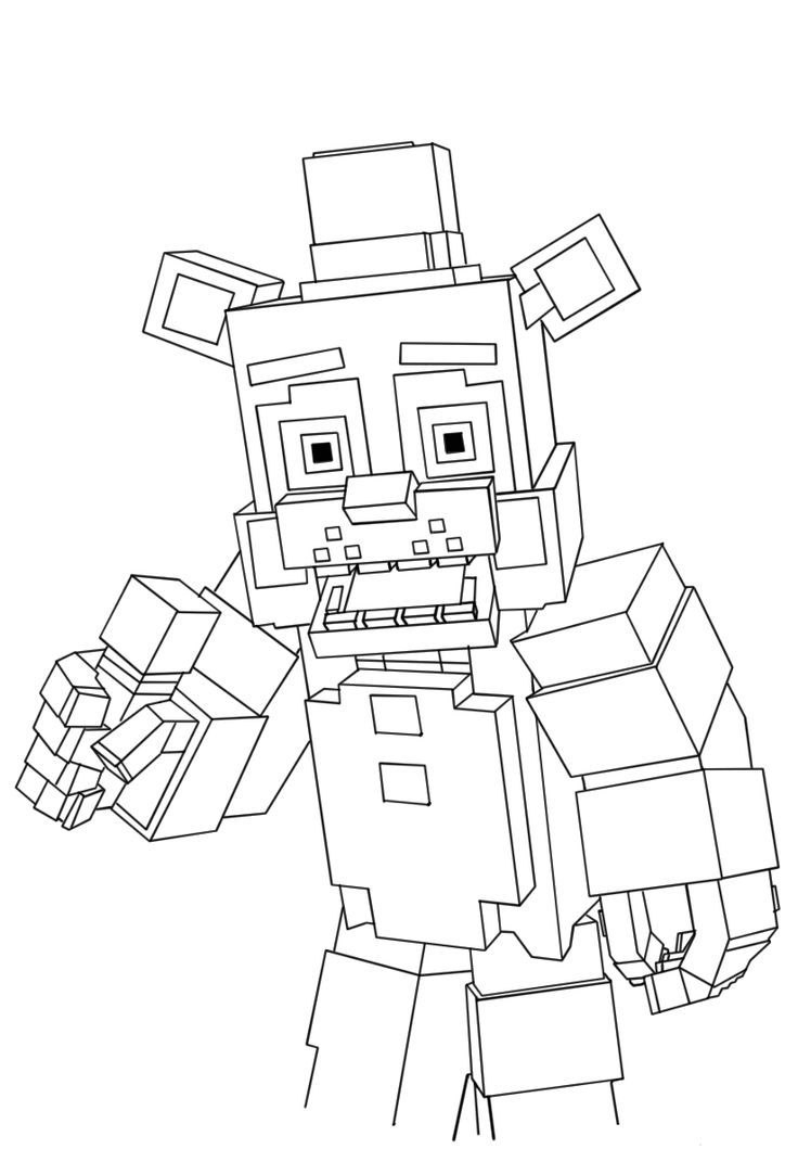 Free Printable Five Nights At Freddy\u002639;s Coloring ...