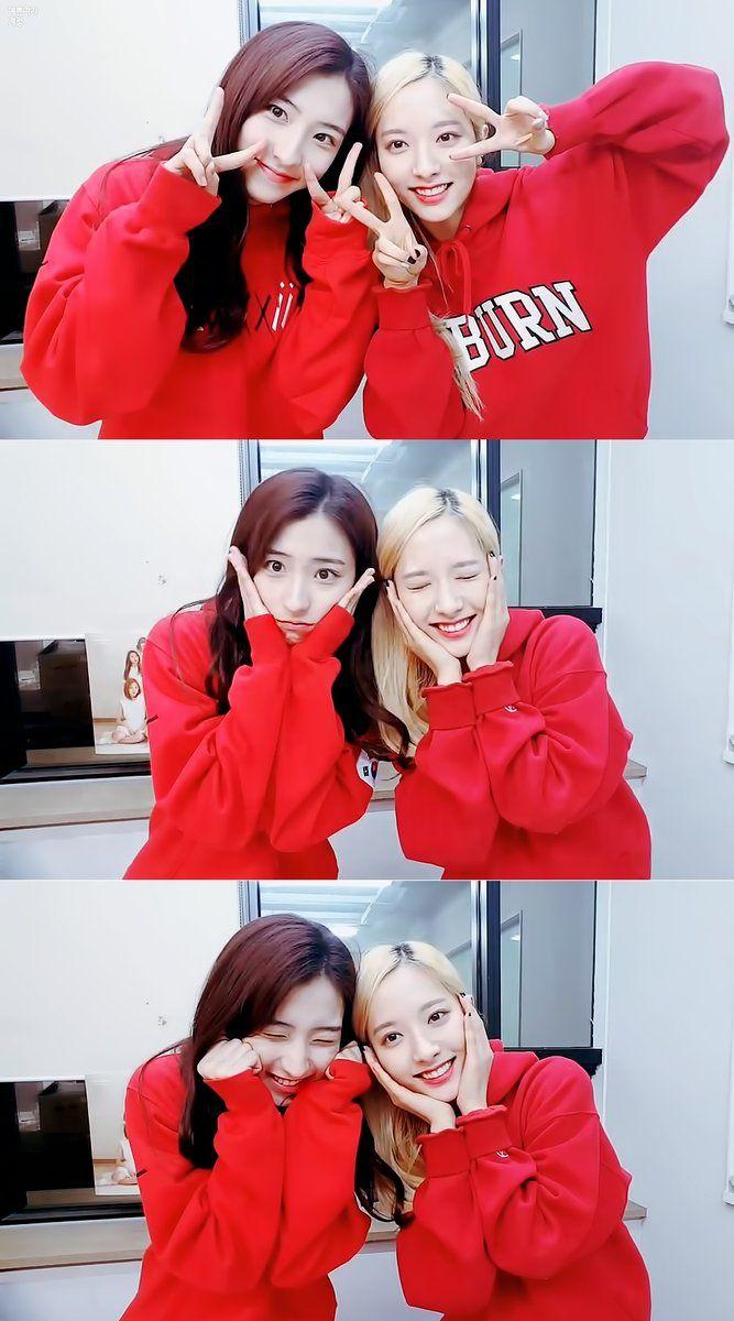 WJSN - Eunseo #은서 (Son Juyeon #손주연) & Bona #보나 (Kim Jiyeon #김지연) 161129