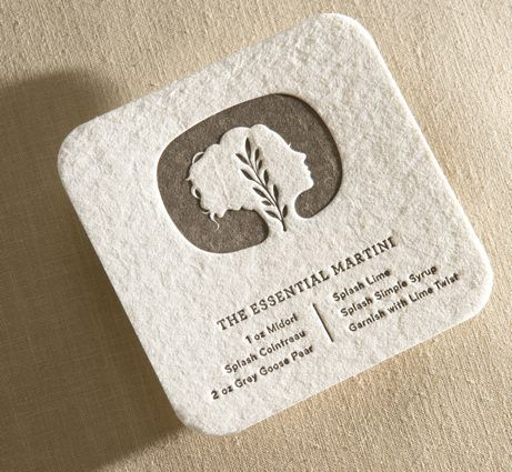 The 137 best business cards letterpressed or debossed images on letterpress square with rounded edge business card elegant reheart Gallery