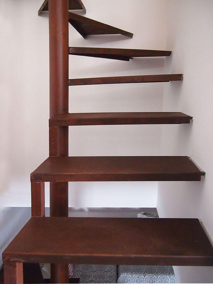 33 best rampas y escaleras images on pinterest ladders for Escaleras de fierro