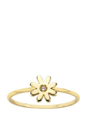 Karen Walker Jewellery for Women   Daisy Ring in Gold   Incu $189