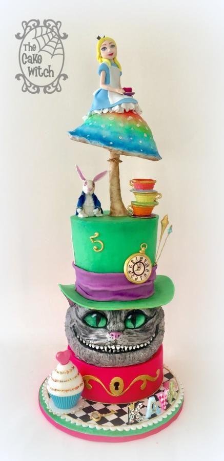 572 best Alice in wonderland cakes images on Pinterest ...