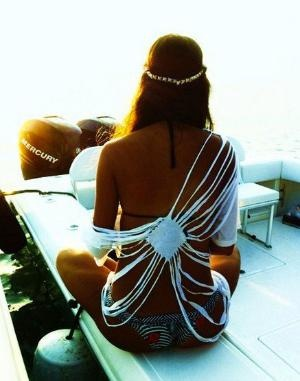 love this for a swim suit cover up