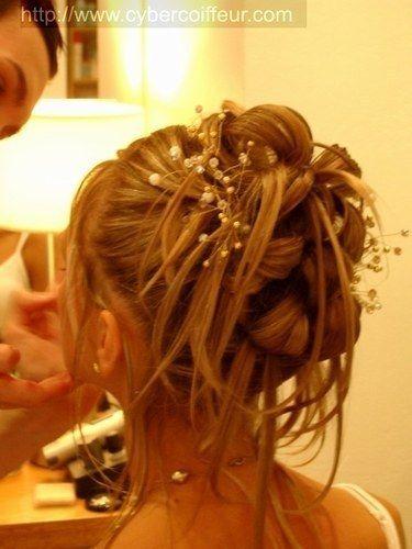 Coiffure mariée - Cheveux courts ou mi long