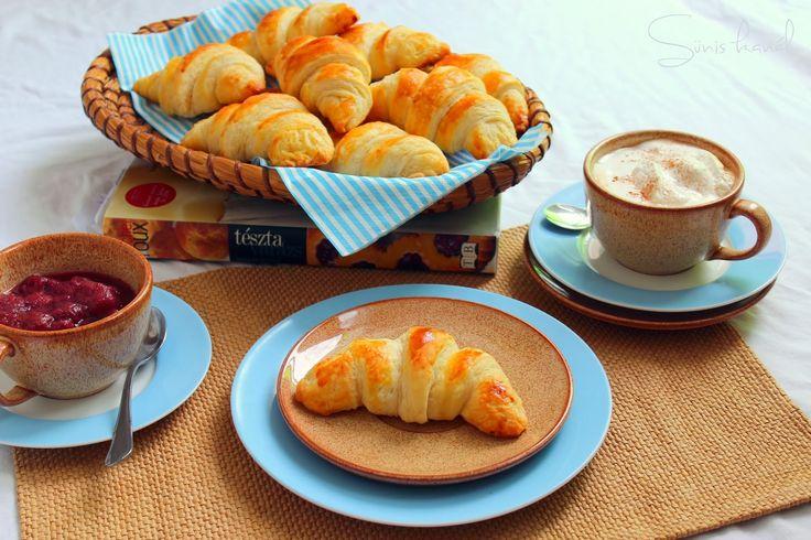 Croissant Michel Roux receptje alapján