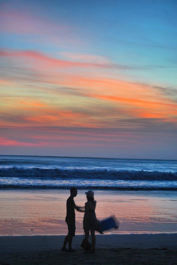 Sunset @ Kuta Beach - Bali - Indonesia