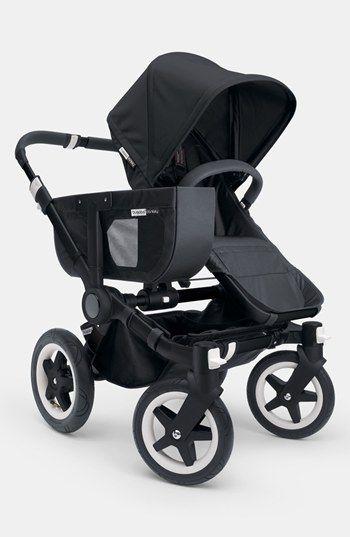 "Bugaboo 'Donkey' Stroller - Black Frame | Nordstrom ~ Perfect for city living - love the ""shopping basket"""