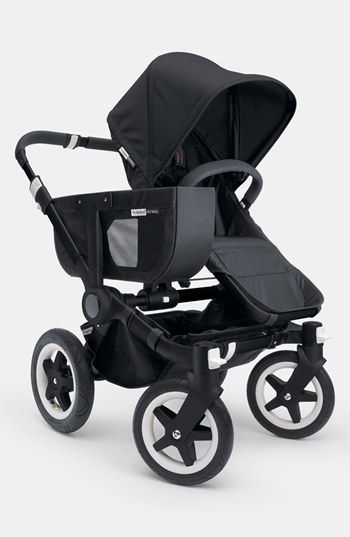 "Bugaboo 'Donkey' Stroller - Black Frame | Nordstrom ~ Perfect for city living - love the ""shopping basket"""