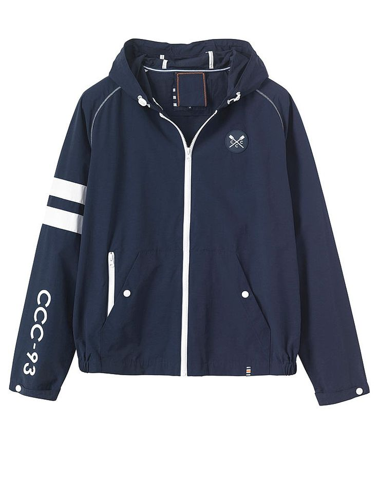Buy our Men's Crew Club Torquay Jacket for £75 available in Navy at Crew Clothing. For more coats, jackets and gilets, visit Crew Clothing.