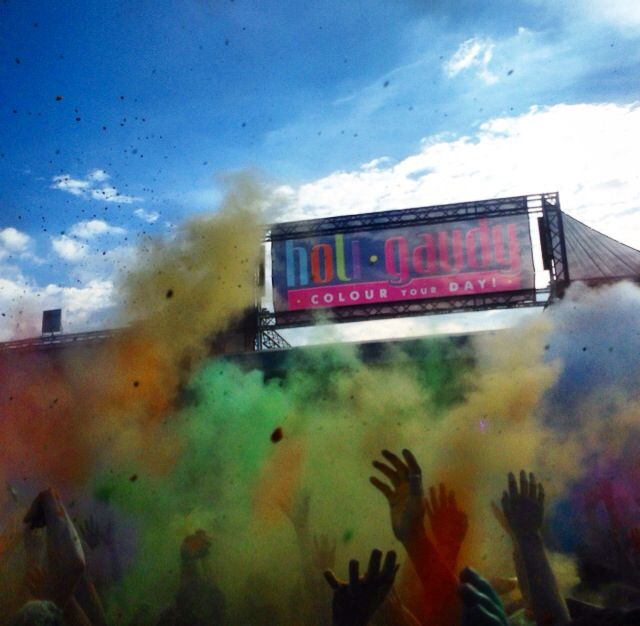 Holi Gaudy, Color your day  #music #party