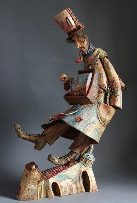 Лариса Чуркина и ее куклы