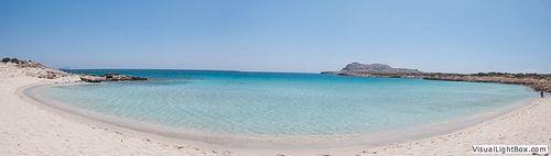Diakoftis beach..Carribean style beach in Greece
