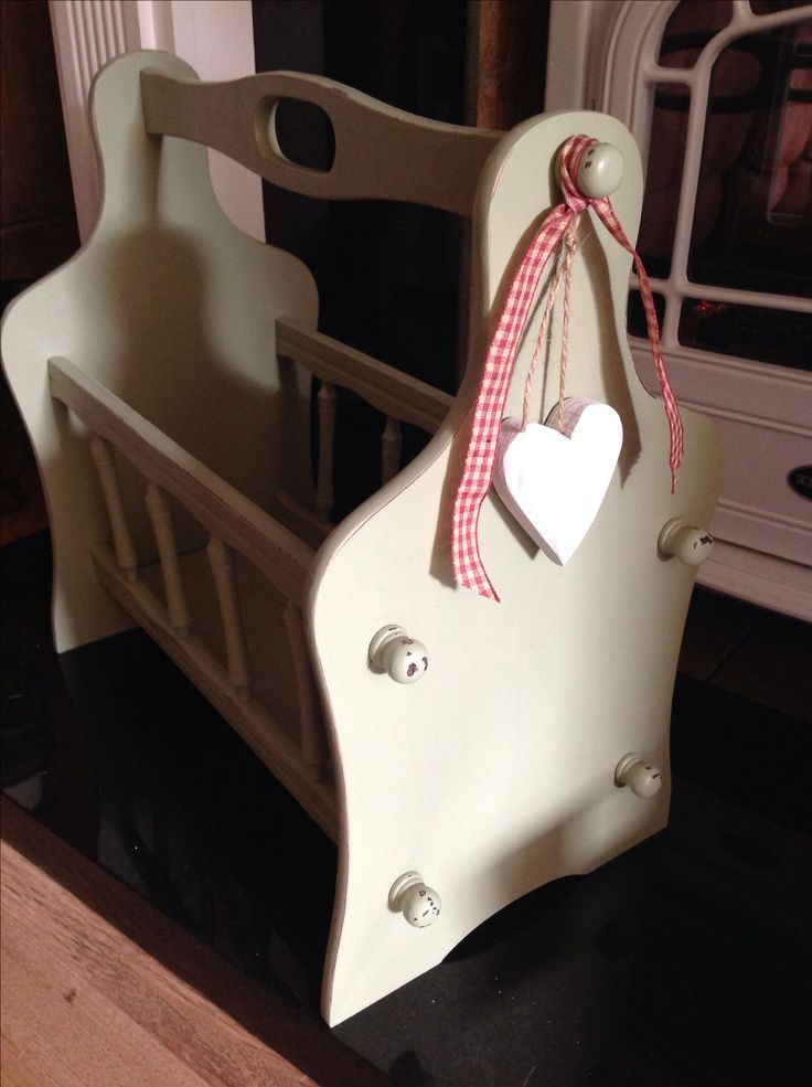 shabby chic magazine rack fiona pinterest shabby magazines and diy furniture. Black Bedroom Furniture Sets. Home Design Ideas