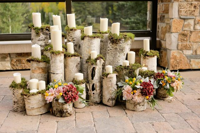 A luxe mountain wedding at the St. Regis Deer Valley surrounded by fall foliage and beautiful details // photo by Logan Walker Photography: http://www.loganwalkerphoto.com || see more on http://www.artfullywed.com