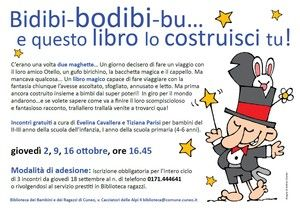 Bidibi-bodibi-bu… e questo libro lo costruisci tu!
