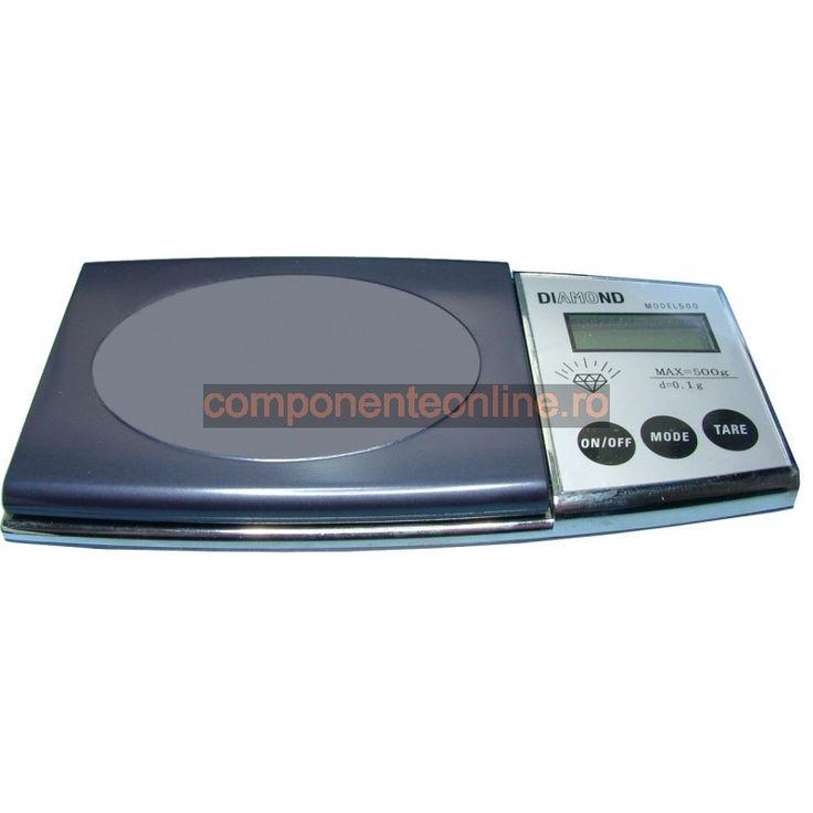 Cantar electronic de precizie, domeniu: 0-500g - 111031