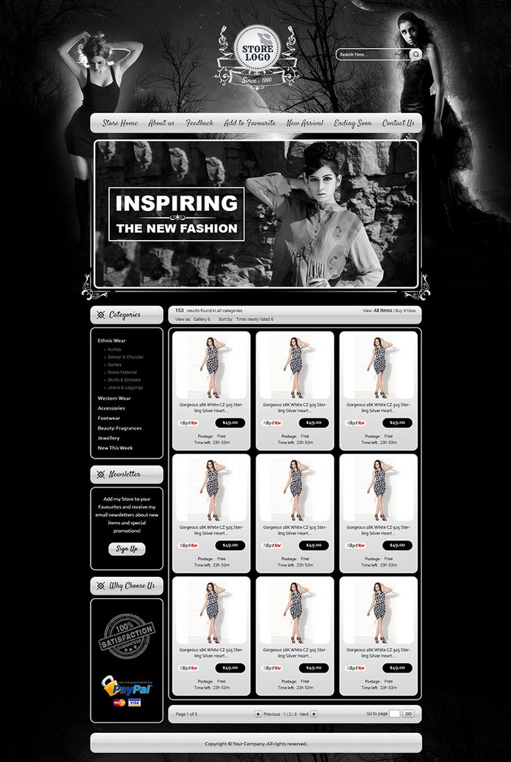 9 best images about clothing ebay listing templates in uk on pinterest shops auction and html for for Ebay store templates free