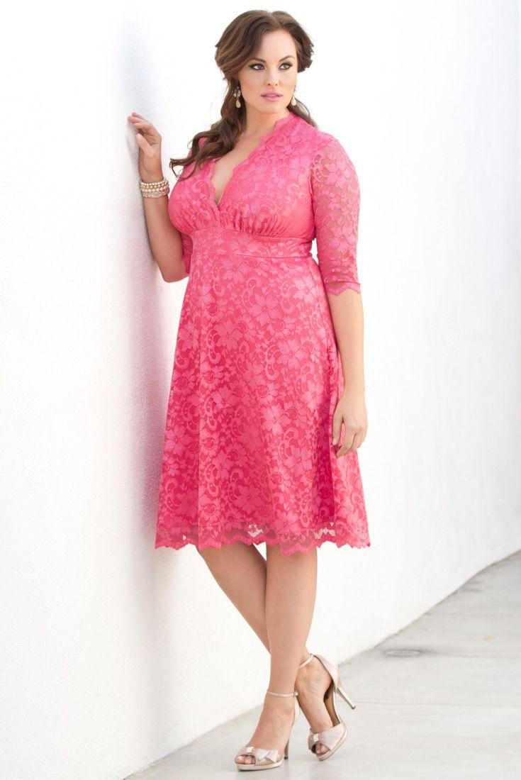 15 best Plus Size Guest Dresses images on Pinterest   Feminine ...