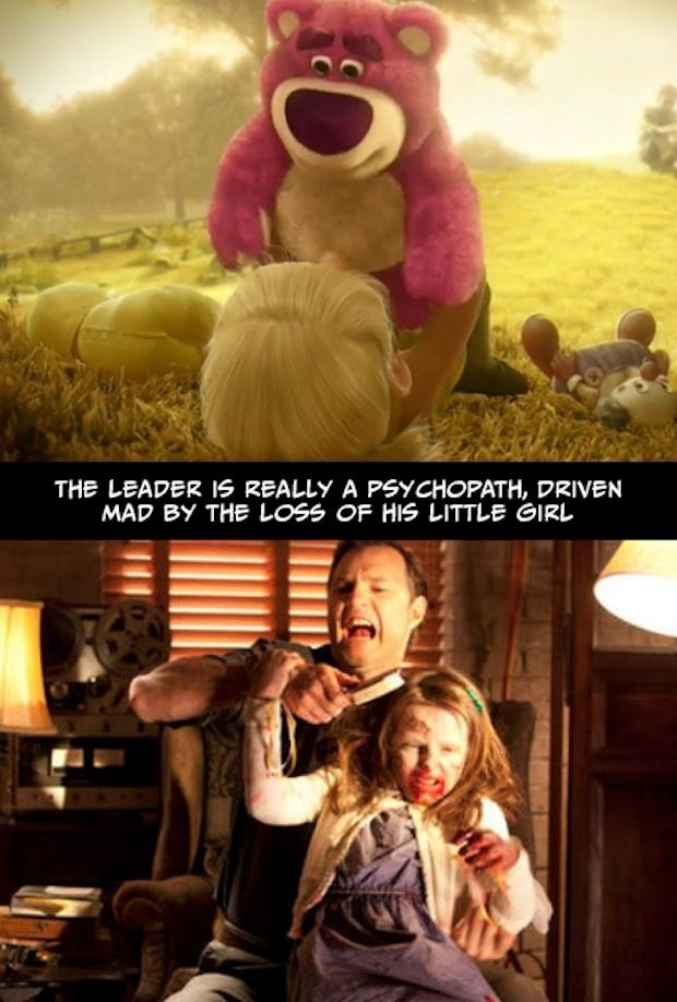 The Walking Dead And Toy Story