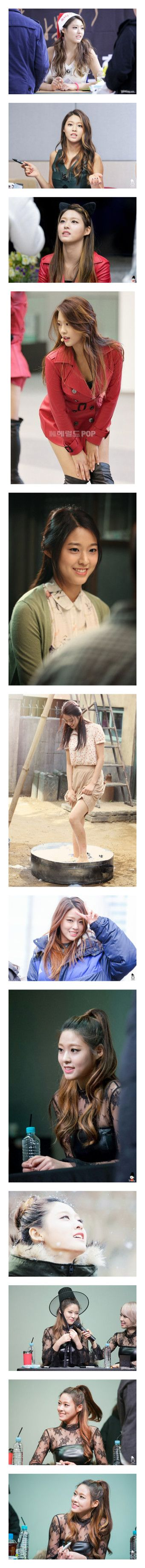 """""""KIM SEOLHYUN [1]"""" by this-little-babydoll ❤ liked on Polyvore"""
