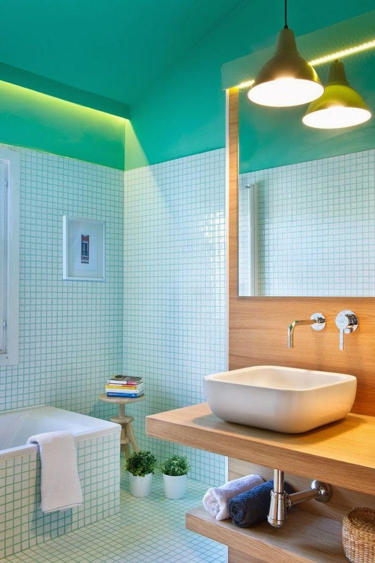 Casinha colorida: Um duplex com arquitetura show!