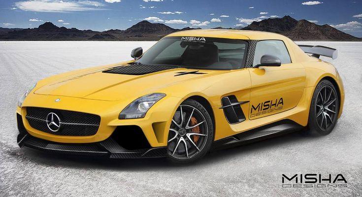 The #MishaDesign #MercedesBenz SLS #AMG Aftermarket #BodyKit http://www.benzinsider.com/2014/09/misha-design-previews-mercedes-benz-sls-amg-aftermarket-body-kit/